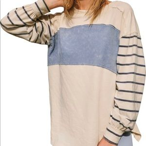 We the Free by Free People Awesome Long Sleeve NWT